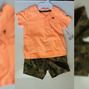Carter's Boy's 6 month jungle/safari set